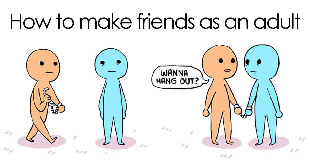 how can i make new friends men s complete life